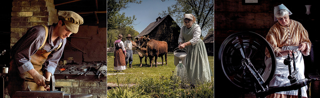 Pioneer Life at Old World Wisconsin
